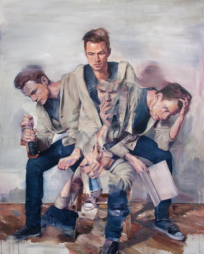 Adam Lupton painting