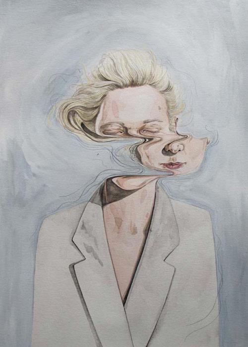 Henrietta Harris painting