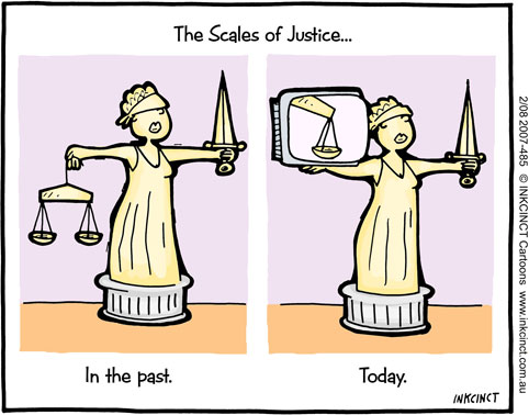 INKCINCT cartoons, 2007-485-modern-scales-of-justice