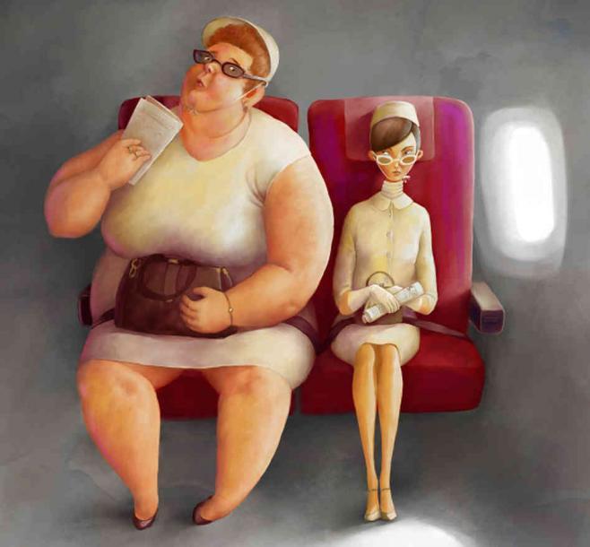 丹·索恩,2013年,重型飞机上的乘客应该付出更多,建议拟在现收现付你掂量方案可用,[访问的2016年年8月20日。