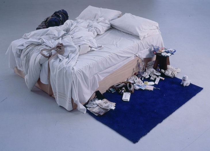 Tracey Emin 1998 My Bed installation