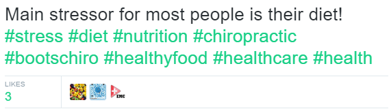 boots-chiropractic-on-twitter-main-stressor-for-most-people-is-their-diet-stress-diet-nutrition-chiropractic-bootschiro-healthyfood-healthcare-health