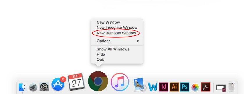 rainbow-chrome-window