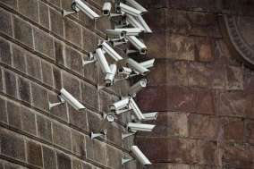 An art installation by Jakub Geltner depicts numerous security cameras installed in public spaces in a way that almost gives them an animalistic character. Geltner's work comments on how technology is 'infesting' our lives. The work aims to draw attention of the public of how almost everything they do is being monitored or watched.
